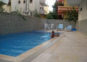 Wohnung in Alanya Zentrum, mit Swimming Pool 57000 Euro