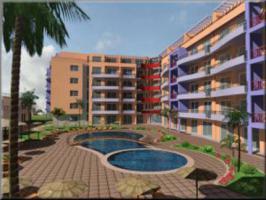 Wohnung in Bulgarien 66 m2 mit Pool direkt am Sonnenstrand