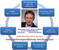 Foto 2 Wohnungsauflösung Haushaltsauflösung Würzburg und Umgebung