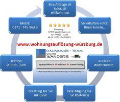 Foto 2 Wohnungsauflösung Würzburg Haushaltsauflösung Entrümpelung