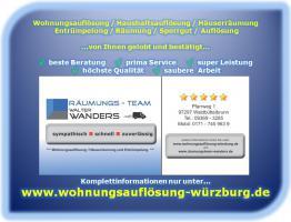 Foto 6 Wohnungsauflösung Würzburg Haushaltsauflösung Entrümpelung