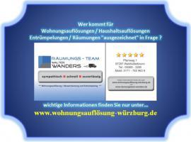 Foto 2 Wohnungsauflösung Würzburg und Umgebung