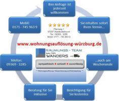 Foto 2 Wohnungsauflösung Würzburg / Ihr Team mit Können - Erfahrung - Kompetenz