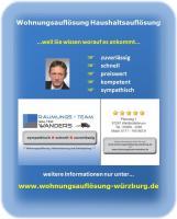 Foto 4 Wohnungsaufl�sung W�rzburg / Ihr Team mit K�nnen - Erfahrung - Kompetenz