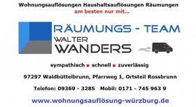 Foto 7 Wohnungsaufl�sung W�rzburg / Ihr Team mit K�nnen - Erfahrung - Kompetenz