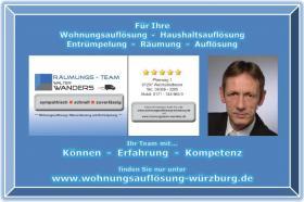 Foto 11 Wohnungsauflösung Würzburg / Ihr Team mit Können - Erfahrung - Kompetenz
