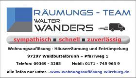 Foto 15 Wohnungsauflösung Würzburg / Ihr Team mit Können - Erfahrung - Kompetenz