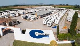 Wohnwagen Verwahrung Caravan INN Costa Brava Spanien