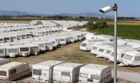 Foto 4 Wohnwagen Verwahrung Caravan INN Costa Brava Spanien