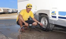 Foto 5 Wohnwagen Verwahrung Caravan INN Costa Brava Spanien