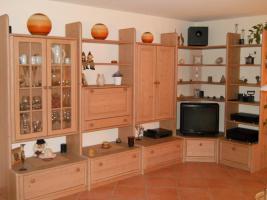 Wohnwand aus Echtholz