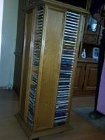 Foto 3 Wohnwand Massiv, TV-Vitrine, 2 St. CD-Säule je 200 CD´s, Tisch, Sitzgarnitur 3er-,2er Couch und Sessel