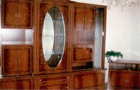 Wohnwand mit TV-Regal