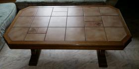 Foto 5 Wohnwand massiv Holz ca.3Meter breit, Esstisch mit 6Stühlen, Couchtisch