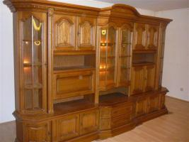 wohnwand rustikal zu verschenken in wehr von privat gartenbedarf. Black Bedroom Furniture Sets. Home Design Ideas