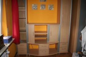 Wohnwandwand / Jugendzimmerschrank