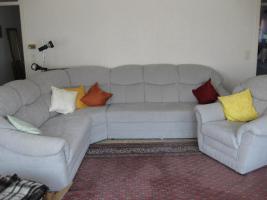 Wohnzimmer-Couchgarnitur