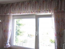 Wohnzimmer und Küchengardine