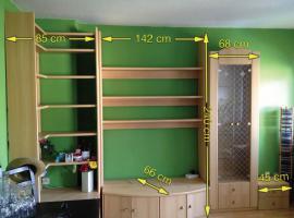 Wohnzimmer Schrankwand / Wohnwand zu verkaufen