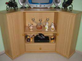 Foto 2 Wohnzimmer-Schrankwand  +  passenden Eckschrank