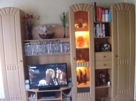 Foto 3 Wohnzimmer-Schrankwand  +  passenden Eckschrank