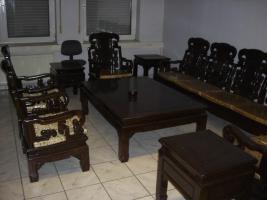Foto 2 Wohnzimmer Sitzgruppe Asiatisch Holz