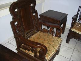 Foto 3 Wohnzimmer Sitzgruppe Asiatisch Holz