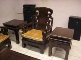 Foto 4 Wohnzimmer Sitzgruppe Asiatisch Holz