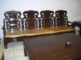 Foto 5 Wohnzimmer Sitzgruppe Asiatisch Holz