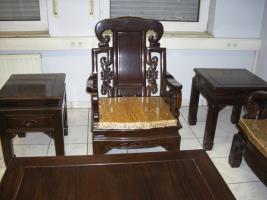 Foto 7 Wohnzimmer Sitzgruppe Asiatisch Holz