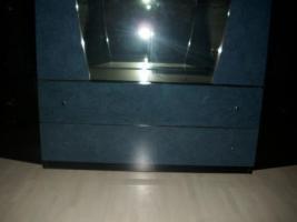 Foto 3 Wohnzimmer Vitrinen Schränke mit Sideboard und Spiegel