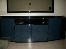 Foto 5 Wohnzimmer Vitrinen Schränke mit Sideboard und Spiegel