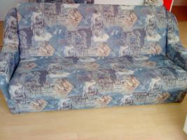 Wohnzimmer sofa mit schlaf funktion und 2er Sessel