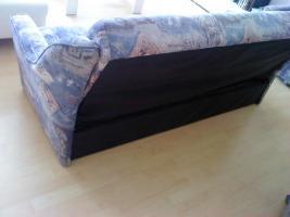 Foto 2 Wohnzimmer sofa mit schlaf funktion und 2er Sessel