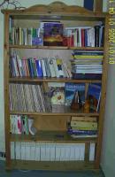 Wohnzimmerregal, Holz, gelaugt, geölt, für Selbstabholer