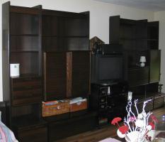 Wohnzimmerschrank 4-teilig mit viel Stauraum an Selbstabholer abzugeben