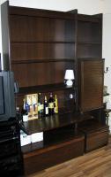 Foto 4 Wohnzimmerschrank 4-teilig mit viel Stauraum an Selbstabholer abzugeben
