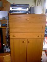 Foto 3 Wohnzimmerschrank Buche Holz