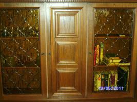 Foto 4 Wohnzimmerschrank Eiche-massiv auch für Jagdzimmer zu verkaufen!!!