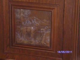 Foto 8 Wohnzimmerschrank Eiche-massiv auch für Jagdzimmer zu verkaufen!!!