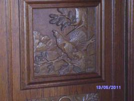 Foto 9 Wohnzimmerschrank Eiche-massiv auch für Jagdzimmer zu verkaufen!!!