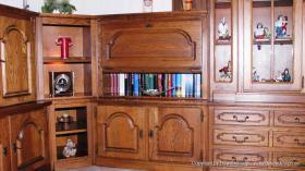 Foto 3 Wohnzimmerschrank Eiche rustikal teilmassiv - Sehr gut erhalten und TOP Gepflegt !