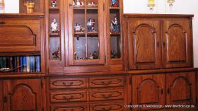 Foto 4 Wohnzimmerschrank Eiche rustikal teilmassiv - Sehr gut erhalten und TOP Gepflegt !