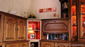 Foto 6 Wohnzimmerschrank Eiche rustikal teilmassiv - Sehr gut erhalten und TOP Gepflegt !