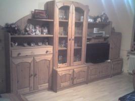 Wohnzimmerschrank Kiefer massiv Antik