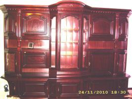 Wohnzimmerschrank aus Mahagoni
