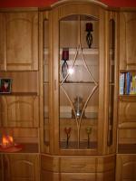 Foto 2 Wohnzimmerschrank mit Vitrine