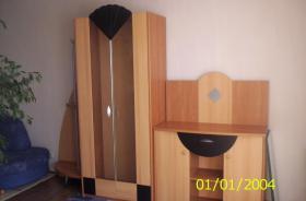 Wohnzimmerschrank mit Vitrine