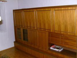 Wohnzimmerschrank Wohnzimmerwand Esche und TV-Drehtisch