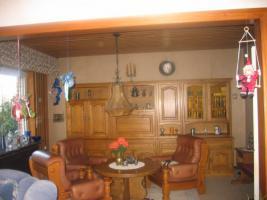 Wohnzimmerschrank massiv Eiche